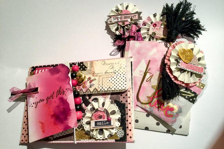 Envelope flipbook und Geschenktüte