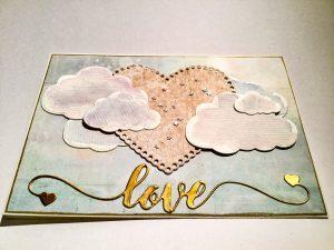 Karte Liebe